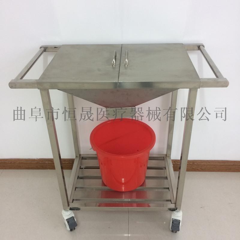 不锈钢治疗车 带抽屉 扇形器械台车手术推车医院用