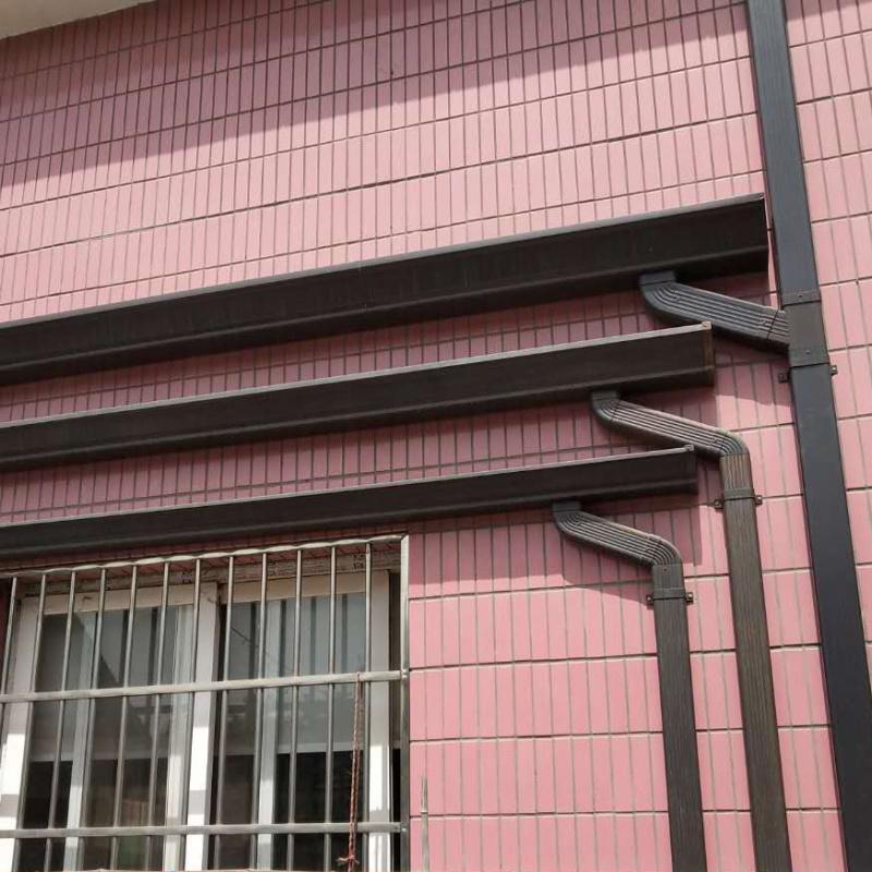 常州K型彩铝天沟雨水槽排水沟