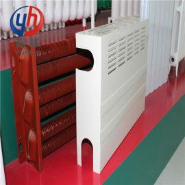 钢制翅片管暖气片GC-76-4_蔬菜大棚散热器