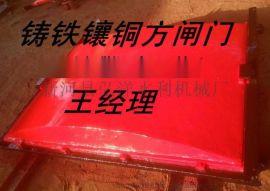 漳浦0.6米铸铁镶铜方闸门现货哪里可以买到
