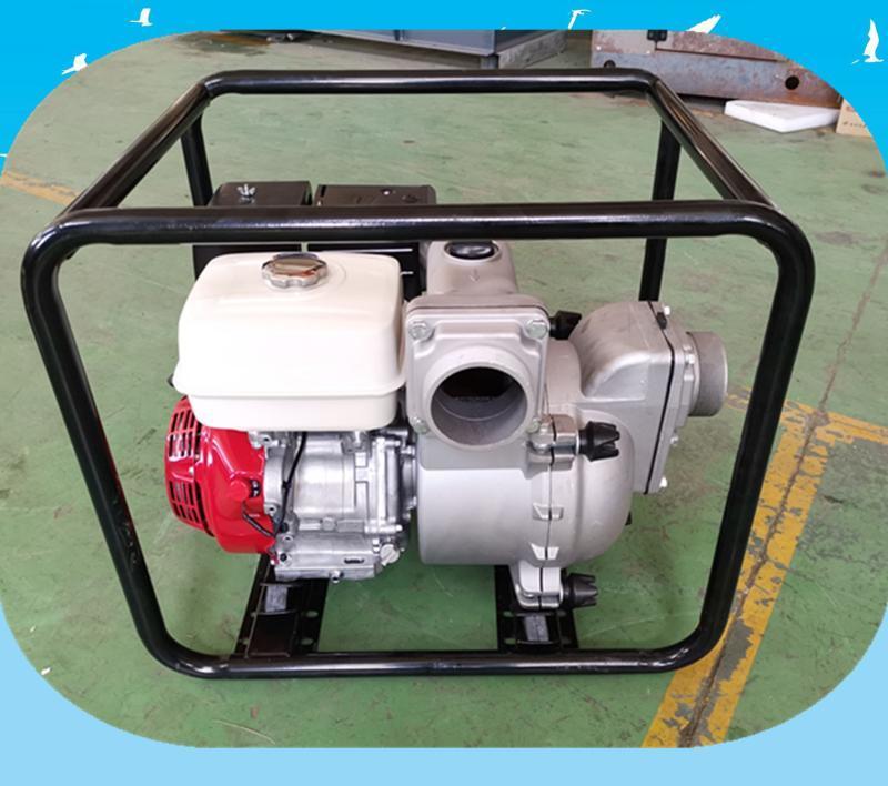 3寸汽油泥浆泵 4寸小型汽油水泵