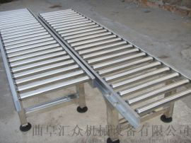 伸缩辊筒输送机铝型材 水平输送滚筒线
