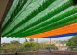 幼兒園頂棚遮陽網 休閒彩色遮陽網 遮陽隔熱防曬網