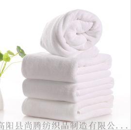 五星級酒店純棉浴巾白色加厚浴巾白浴巾定製LOGO