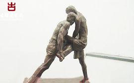 重庆雕塑厂家,古镇仿真人物雕塑设计定制