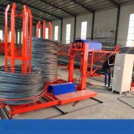 宁夏钢筋笼绕筋机钢筋笼成型机自动存储数据