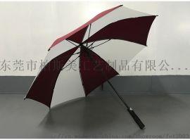 27寸高尔夫全纤维雨伞厂家直销