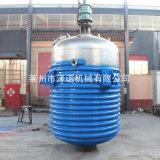 50立方外盤管反應釜內盤管蒸汽加熱反應設備