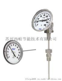 WIKA威卡TGE53全不锈钢双金属轴向万向温度计