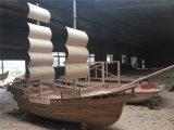甘肃平凉崇信县景观装饰船厂价定制木船厂家