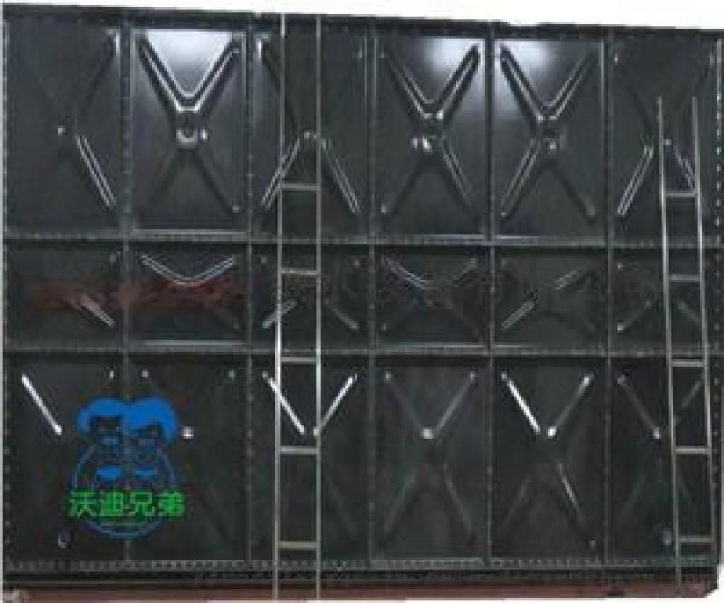 山东沃迪搪瓷水箱安装生活水箱厂家搪瓷钢板水箱