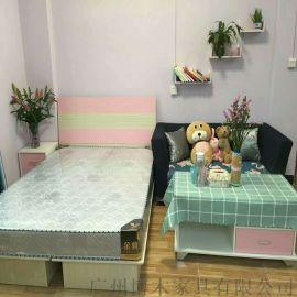 厂家直销专业单人床,双人床