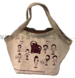 環保材料手提購物帆布袋