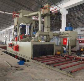 通过式抛丸机铝膜板抛丸机 河北百洋机械大型铝膜板抛丸机 铝膜板通过式抛丸机铝膜板抛丸机
