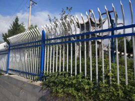 别墅防护隔离栏小区四横梁围墙锌钢护栏 草原围墙护栏
