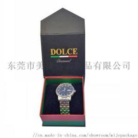 定制手表收纳盒 精美翻盖手表盒 纸质手表盒子包装盒
