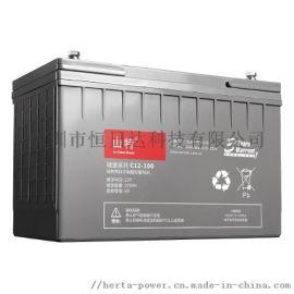 山特12V100AH铅酸蓄电池