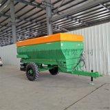 大型撒粪机厂家 农用肥料抛撒机 牵引式粪肥撒肥机