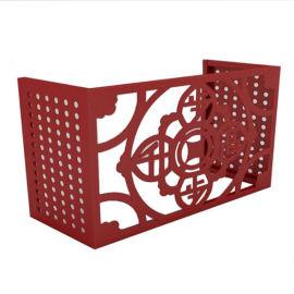 包柱雕花雕刻铝单板厂家直销异形铝单板规格定制