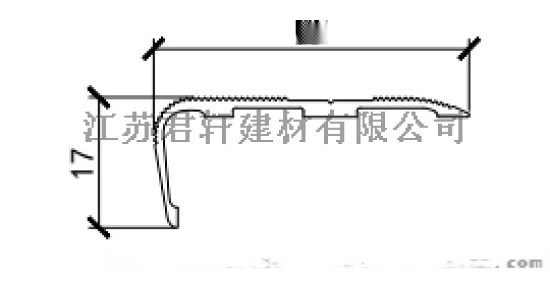 南京樓梯防滑條廠家生產各種電泳顏色鋁合金防滑條
