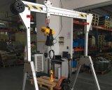 移動龍門吊架 工字鋼龍門架起重電動提升機家用1/2/5噸小型龍門吊