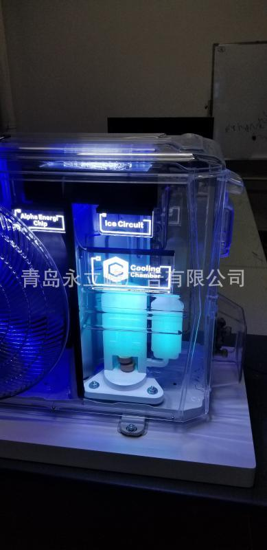 家用空调透明外机亚克力全透明室外机