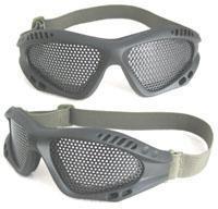 防冲击零号铁网眼镜
