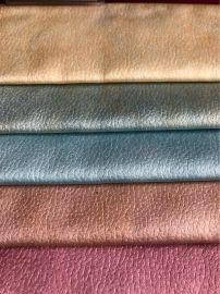 现货供应高精密仿皮沙发布 透气面料仿皮装饰面料 耐磨无弹科技布