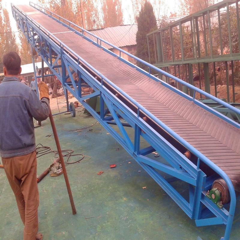 供应矿用胶带输送机 装车皮带机 粮食输送机