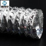 耐高溫伸縮風管批發/鋁箔高溫風管/UV爐抗紫外線通風軟管3寸76mm