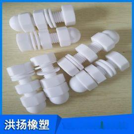 耐腐蚀聚四氟乙烯螺丝 四氟螺栓 紧固件 螺母