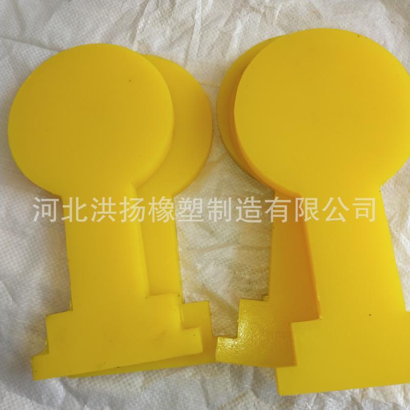 生產供應 高強度牛筋墊塊 聚氨酯隔震墊塊 高強度聚氨酯牛筋墊板