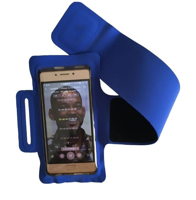 电压臂带手机臂包 新款旋转手机臂带跑步手臂包 莱卡运动臂带