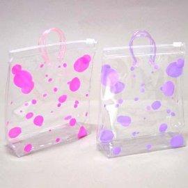 广州厂家定制PVC袋 手提PVC袋 环保拉链PVC袋 可来样生产