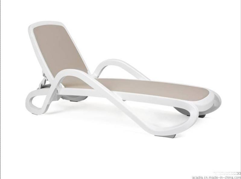 进口塑料特斯林躺椅,沙滩躺床