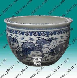 陶瓷大缸厂家 青花陶瓷大缸