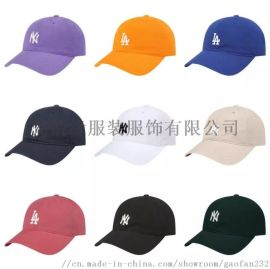 NY棒球帽韩版定做刺绣LOGO