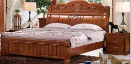 新款  20   床 橡木材质 实木套房家具系列 粤祥文瑞