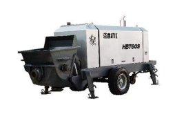 洛建HBT60S、HBT60C、HBT60D、HBT70RS拖式混凝土输送泵