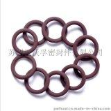 供應高品質氟橡膠密封圈 黑色氟膠O形圈 耐氫氟酸腐蝕溶液氟膠圈