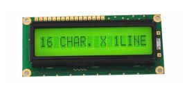 16*1LCM字符液晶模块 并口通讯