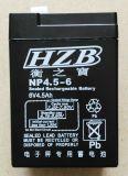 电子秤NP4.5-6V4.5Ah蓄电池  电子秤衡之宝6v蓄电池