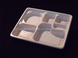 诚鸣鑫 N03一次性餐具 六格餐盒 高档商务餐盒