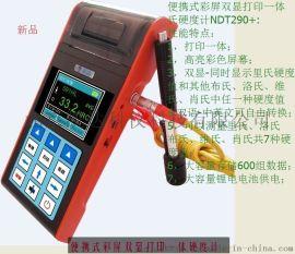 便携式彩屏双显里氏硬度计(带打印)NDT290+