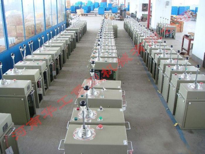 亚重牌QT1系列起重机控制台,三机构/座椅,司机室操作手柄