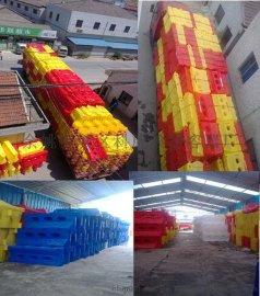 三孔水馬廠家直銷中心 塑料三孔水馬商家 滾塑三孔水馬批發價