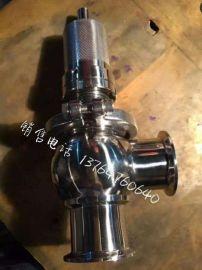 卫生级不锈钢快装溢流阀 卫生级不锈钢泄压阀 卫生级快装安全阀