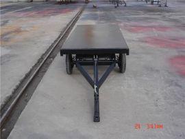 拖拉机平板拖车,多功能厂区、港口运输用。厂家直销可定做