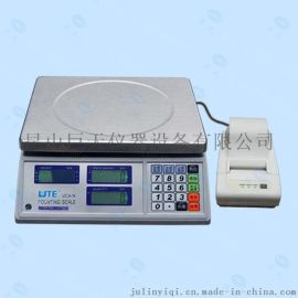 UTE联贸6kg打印计数电子称 打印重量、数量、条码的电子称