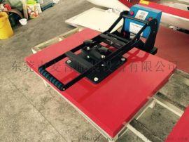 单工位烫画机,大幅面手动高压单工位烫画机60*80CM